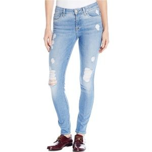 7 For All Mankind The Skinny Aegean Sea size 27